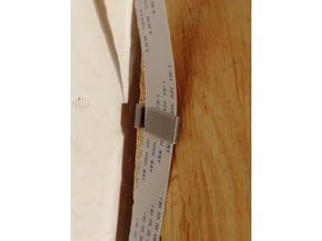 Tiny Raspberry Pi Camera Ribbon Cable Clip
