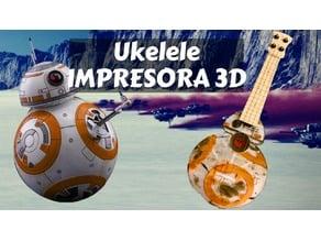 Ukelele - Ukulele BB8 Star Wars