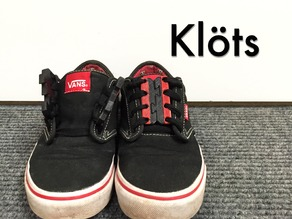 Klöts (Quick shoe ties)