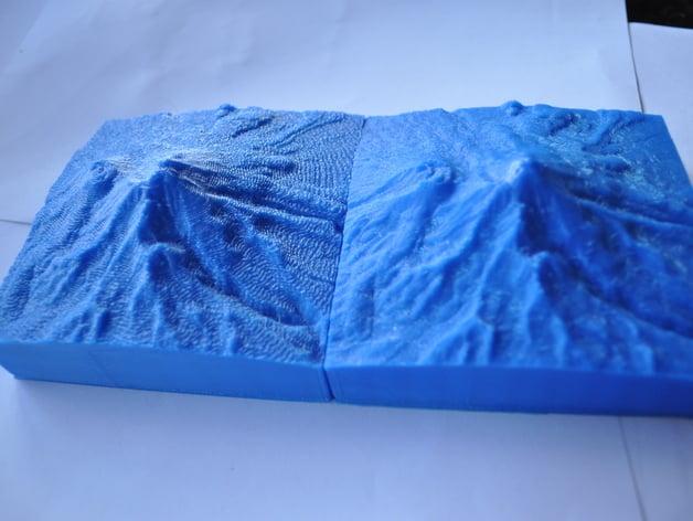 Mt Shasta 10km Collectible Mountain