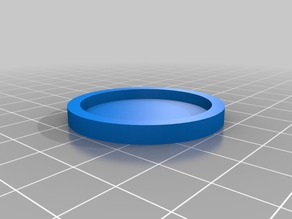 HeroClix Round Object Token Base