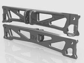 """beefier Y frame for the Makerfarm 12"""" Prusa i3v"""