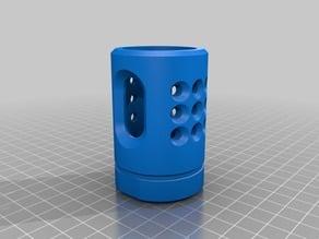 Symmetrical NS1 Muzzle Brake for Nerf N Strike Blasters