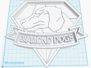 Diamond Dogs - dog tag
