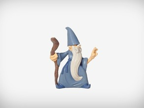 Rolf the Wizard by MakerBot remix