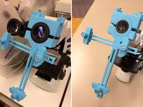 Adaptateur smartphone pour microscope