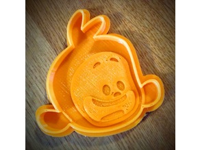 Tee cookie cutter