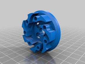 Vex Mecanum Wheel adapter with mirrored part