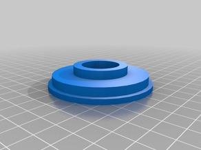 Double 32mm x 57mm filament hub