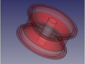 Pulley Full 3D printable working mechanism