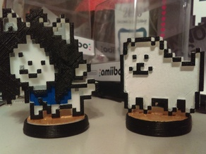Undertale - Temmie and Annoying Dog Figures