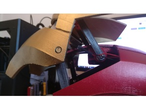 Servo Hinge for Iron Man Helmet