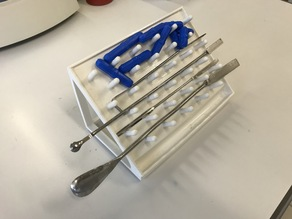 Drying rack for small lab tools