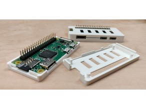 Raspberry Pi Zero W - snap-on case