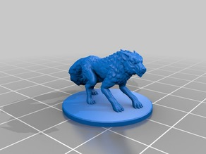 Dire Wolf Miniatures