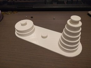 Robot Accessible Tower of Hanoi
