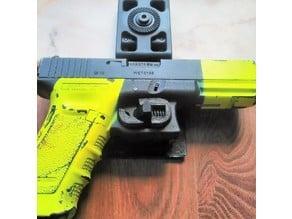 Airsoft G17/G18c Holster Trigger Lock Mechanism
