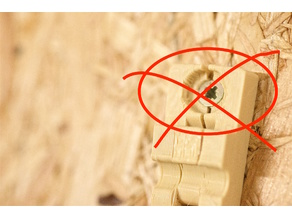 PlainZkru - Convert screws to flat-headed,. Avoid de-lamination/splits