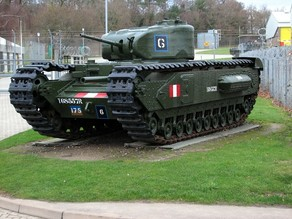 Churchill I tank (1/72 Scale)