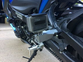 Motorcycle Foot Peg GoPro Mount