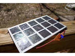 $1 Yard Solar Lights to Solar Panel