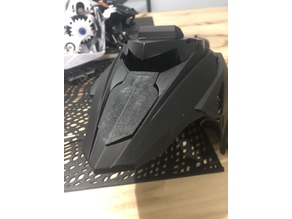 1/6 yamaha viper hood panel conversion