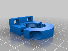 ANET A8 Rear Bed Level Sensor Holder - Modified