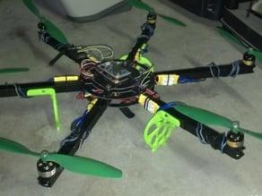 Mr. Lander the hexacopter landing gear