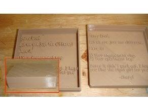 Customizable Relationship Break-Up Box