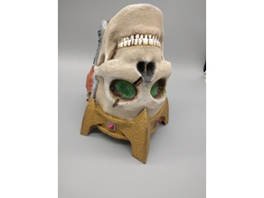 Lich Skull Beer Holder