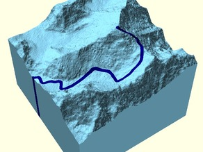 Everest & 1953 Ascent Route (Dual Color)