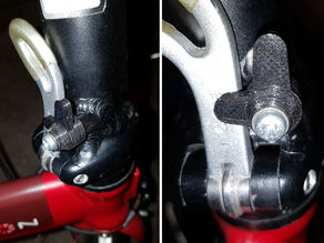 Parametric Safety Latch (for Dahon Folding Bike)