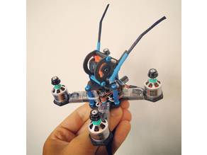 "T4bee Microcopters smallest possible 2"", 2.5"", 3"", 4"" multirotors for 20x20mm FC & CCDs, Swift Mini, Micro Swift, CMOS etc."