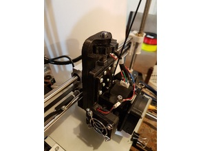 Anet A8 Print Head Micrometer Height Adjuster