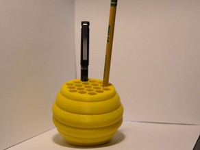 Desk Hive (pencil holder)