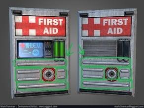 H.E.V. First Aid Station Details 1:1
