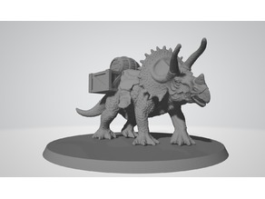 Triceratops for resin printers