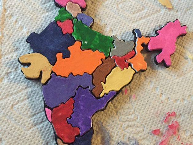 India Map Puzzle.India Map Puzzle By Murlax