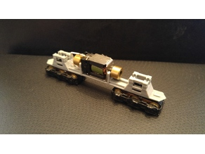 Replacement Frame for a Life-Like N-Scale EMD SD-7 locomotive
