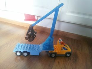 Duplo Rubber Band Loglifter