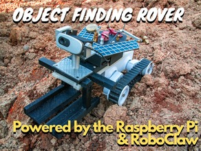 Object finding rover