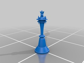 Kingdom Hearts 3 Sora Chess King