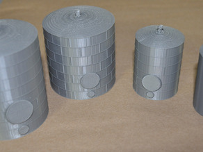 Oil Storage Tank Model