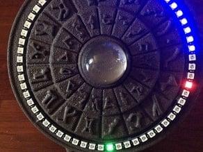 Stargate Inspired Arduino NeoPixel Clock