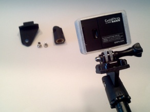 GoPro Mic Stand Mount - customizable