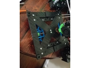 220 x 220 Print Bed Support Frame