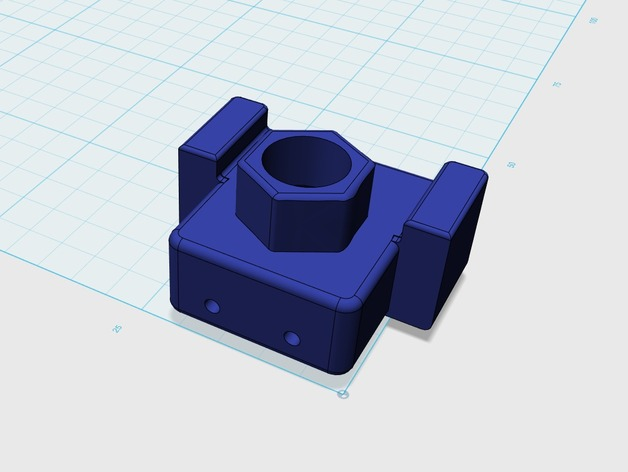 ROBO3D Leadscrew Upgrade Switch Mount by krishy123 - Thingiverse