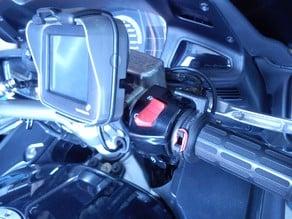 PAN European ST1300 heated grip throttle hold