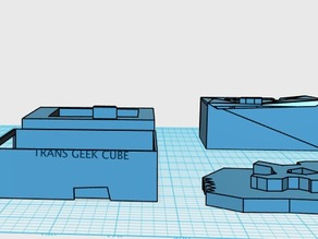 trans geek cube