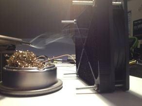 Fume extractor, 120mm fan